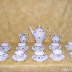 Antigüedades: JUEGO CAFE PORCELANA . Lote 153954558