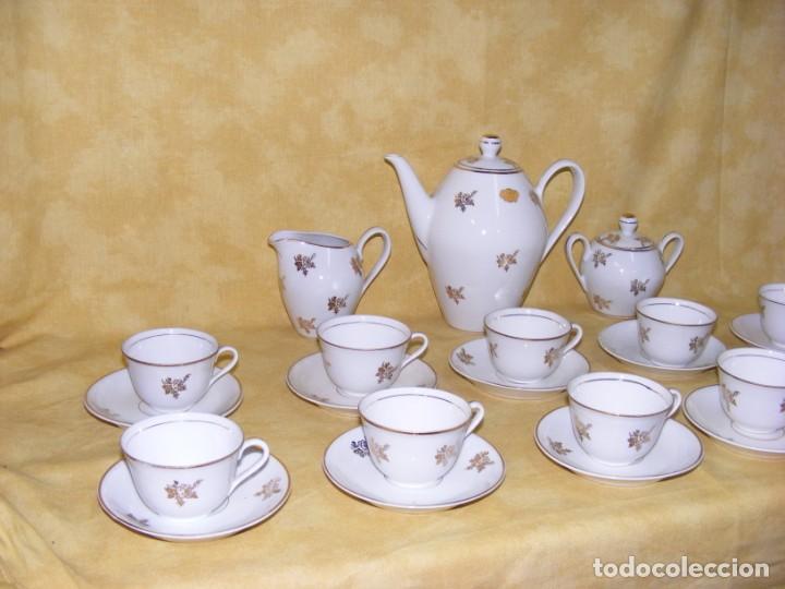 Antigüedades: JUEGO CAFE PORCELANA - Foto 2 - 153954558
