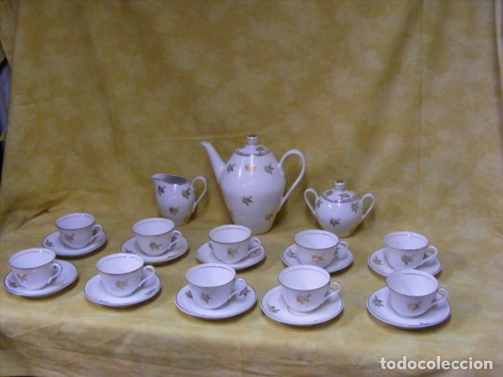 Antigüedades: JUEGO CAFE PORCELANA - Foto 3 - 153954558