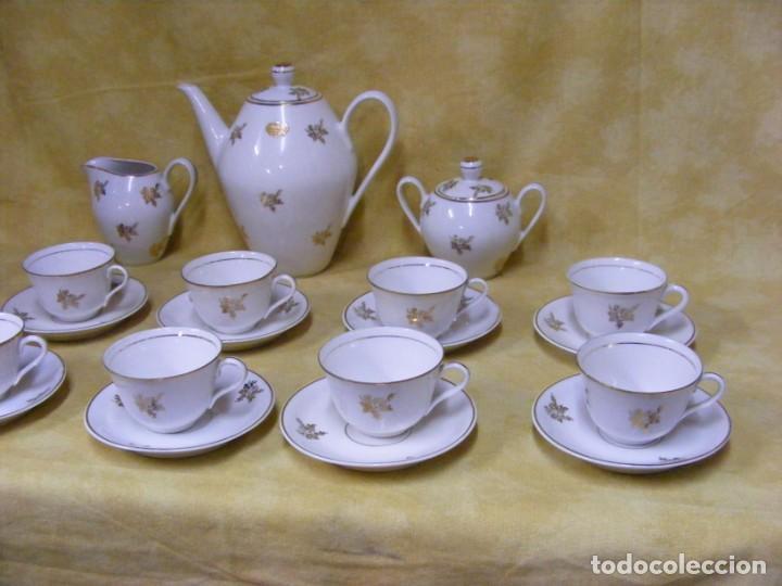 Antigüedades: JUEGO CAFE PORCELANA - Foto 4 - 153954558