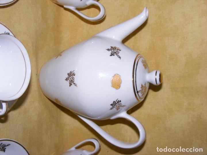 Antigüedades: JUEGO CAFE PORCELANA - Foto 5 - 153954558