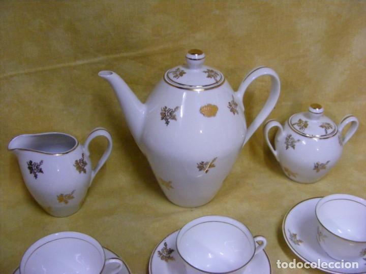 Antigüedades: JUEGO CAFE PORCELANA - Foto 6 - 153954558