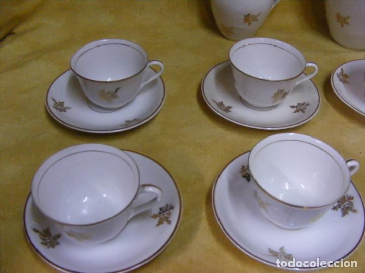 Antigüedades: JUEGO CAFE PORCELANA - Foto 7 - 153954558