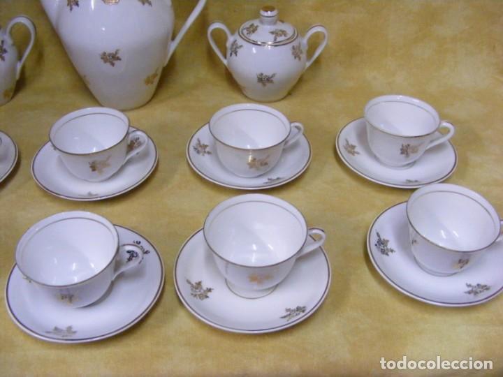 Antigüedades: JUEGO CAFE PORCELANA - Foto 8 - 153954558