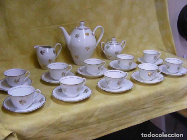 Antigüedades: JUEGO CAFE PORCELANA - Foto 9 - 153954558