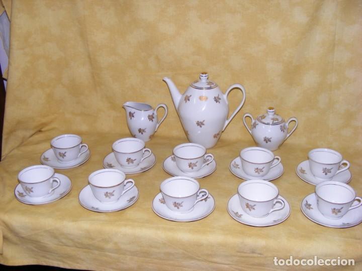 Antigüedades: JUEGO CAFE PORCELANA - Foto 10 - 153954558