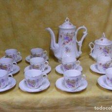 Antigüedades: JUEGO CAFÉ ALEMAN ALTWASSER. Lote 153955098