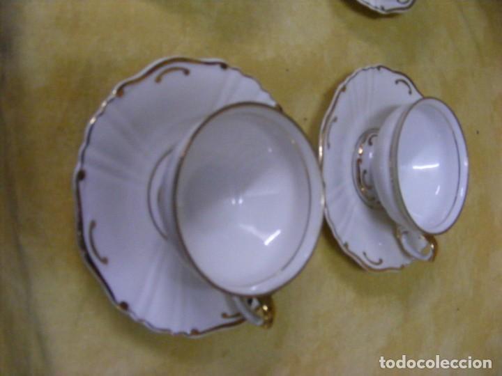 Antigüedades: JUEGO DE CAFÉ EN PORCELANA - Foto 7 - 153955466