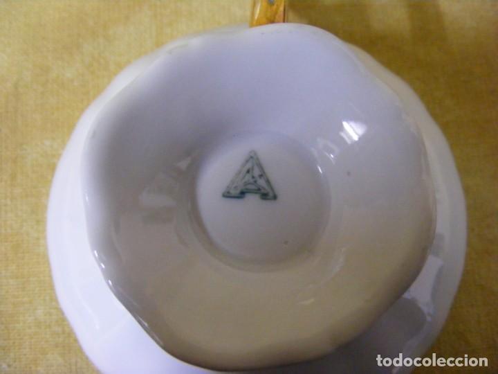 Antigüedades: JUEGO DE CAFÉ EN PORCELANA - Foto 10 - 153955466