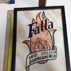 Antigüedades: FALLA.UNION CICLISTA BORRIANENCA 1992. Lote 153959210