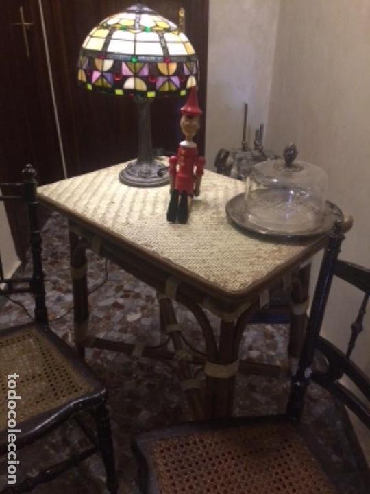 Antigüedades: Sillas y mesa - Foto 2 - 138878622