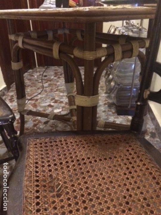 Antigüedades: Sillas y mesa - Foto 3 - 138878622