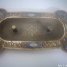 Antigüedades: PRECIOSA BASE DE BENDITERA ANTIGUA. Lote 154008524