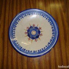 Antiquités: INTERESANTE PLATO CERAMICA CON FIRMA LEER. Lote 154017170