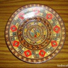 Antigüedades: INTERESANTE PLATO CERAMICA PERU. Lote 154017506