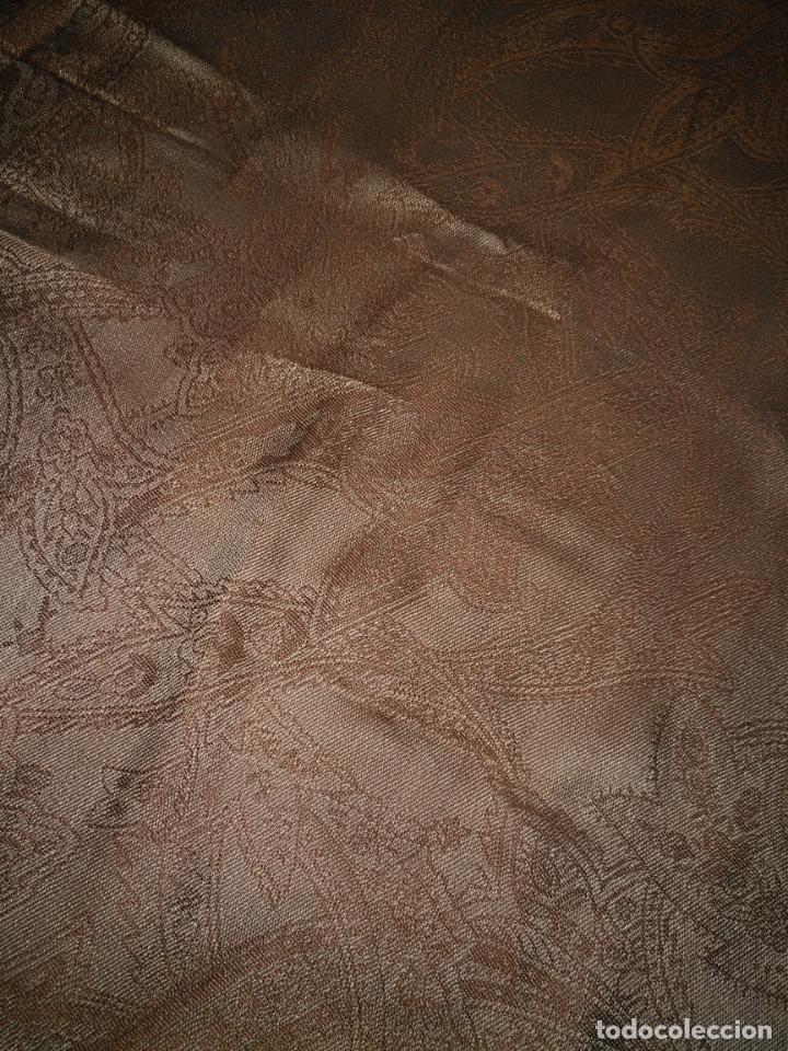 Antigüedades: PAÑUELO PICO CHAL TRAJE REGIONAL MANTON MODA COMPLEMENTO 80 % LANA 175 CM APROXIMADOS - Foto 5 - 154041078