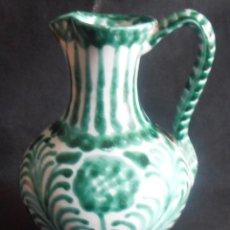 Antigüedades: JARRA DE CERAMICA GRANADINA, DE 500 ML. Lote 154041694