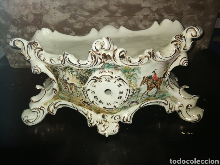 BASE DE RELOJ DE PORCELANA (Antigüedades - Porcelanas y Cerámicas - Alcora)