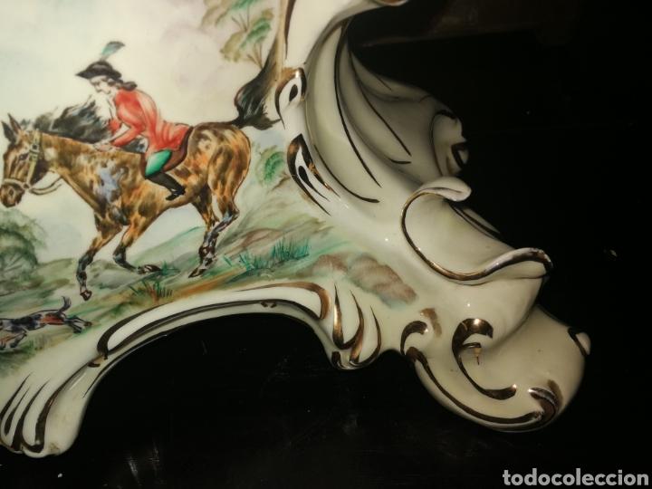 Antigüedades: BASE DE RELOJ DE PORCELANA - Foto 4 - 154094296