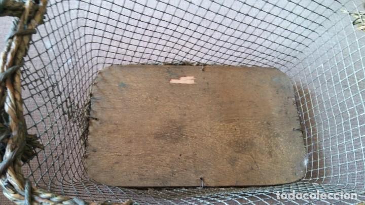 Antigüedades: Cestita con alambre - Foto 4 - 154113022