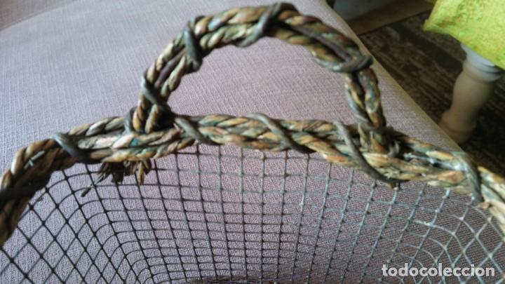 Antigüedades: Cestita con alambre - Foto 7 - 154113022