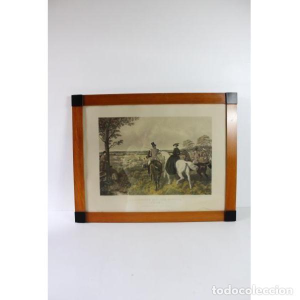 ANIGUA LÁMINA DE 1857 J.F. HERRING´S ORIGINAL (Antigüedades - Varios)