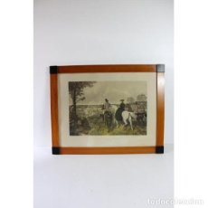 Antigüedades: ANIGUA LÁMINA DE 1857 J.F. HERRING´S ORIGINAL. Lote 154132170