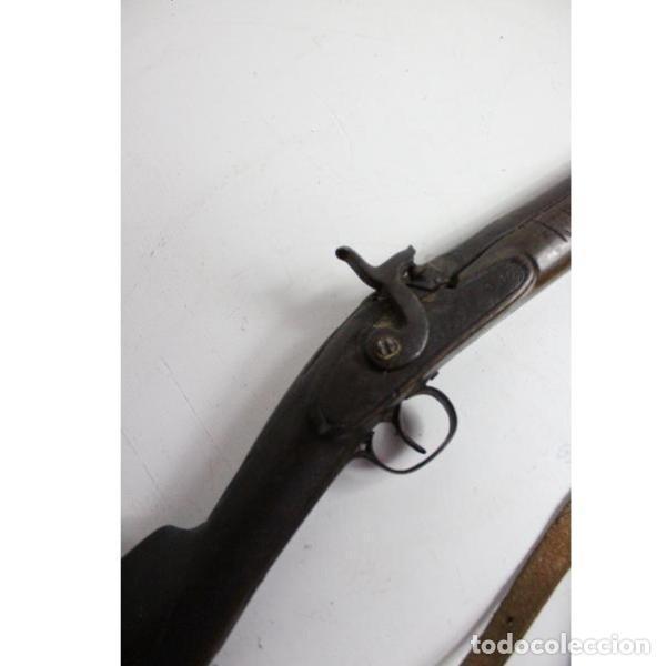 Antigüedades: Antigua escopeta de avancarga para decoración - Foto 5 - 154133642