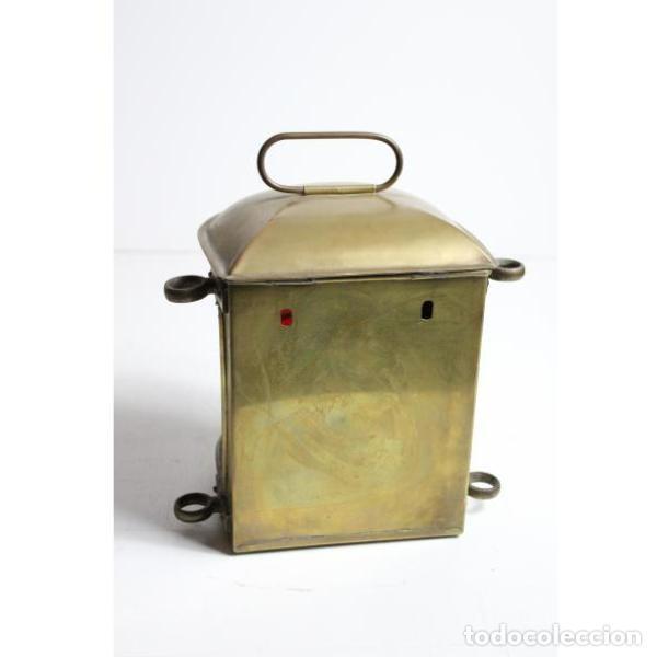 Antigüedades: Antiguo farol de barco de bronce - Foto 6 - 154133838