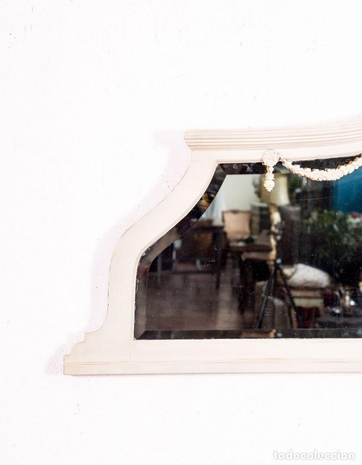 Antigüedades: Espejo Antiguo Restaurado Zoe - Foto 3 - 154163754