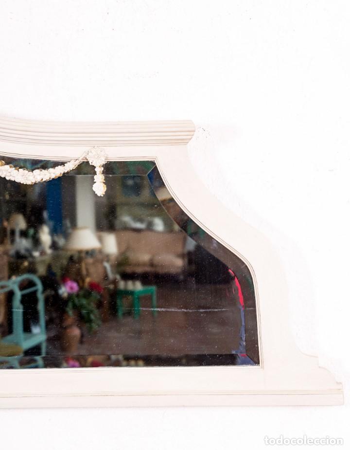 Antigüedades: Espejo Antiguo Restaurado Zoe - Foto 4 - 154163754