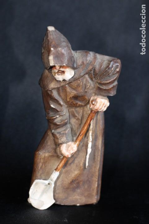 Antigüedades: DE COLECCIÓN TRES ANTIGUOS FRAILES DE ALGORA NUMERADOS Y FIRMADOS EN BASE - Foto 4 - 154164822