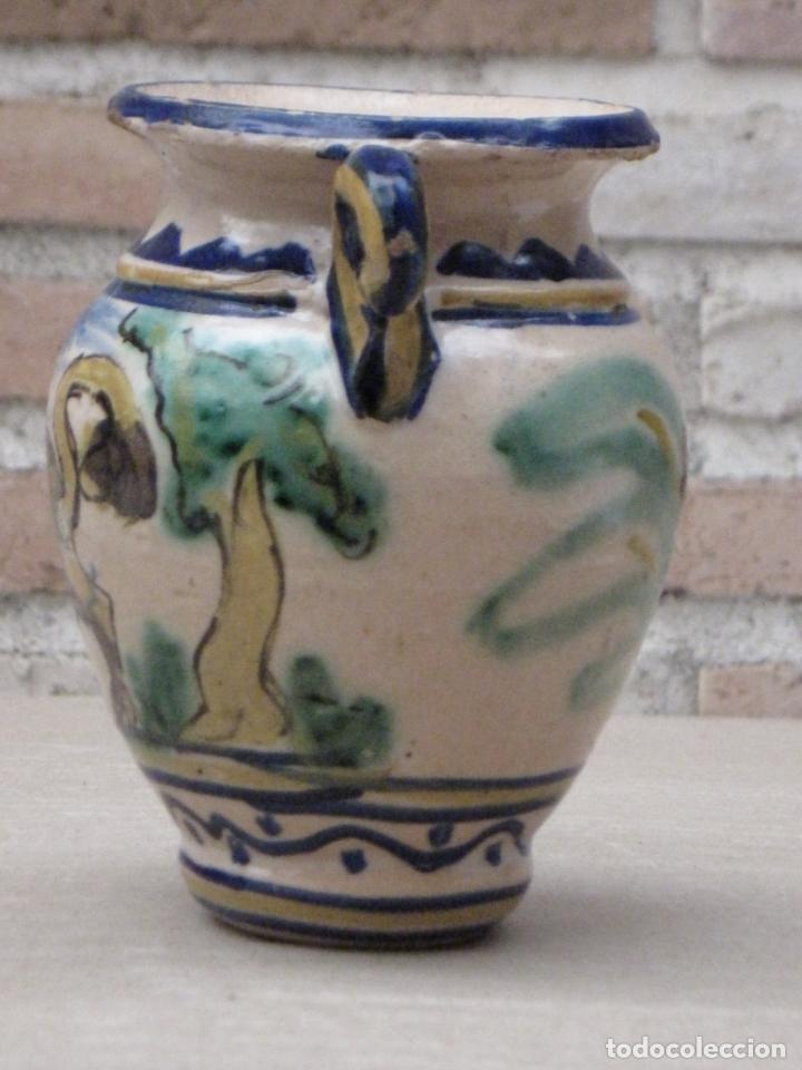 Antigüedades: JARRA ANTIGUA DEL LOBO - PUENTE DEL ARZOBISPO ( TOLEDO ) - Foto 2 - 154174406
