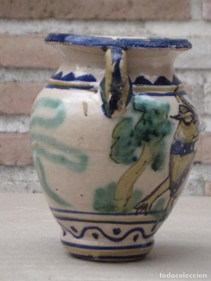 Antigüedades: JARRA ANTIGUA DEL LOBO - PUENTE DEL ARZOBISPO ( TOLEDO ) - Foto 3 - 154174406