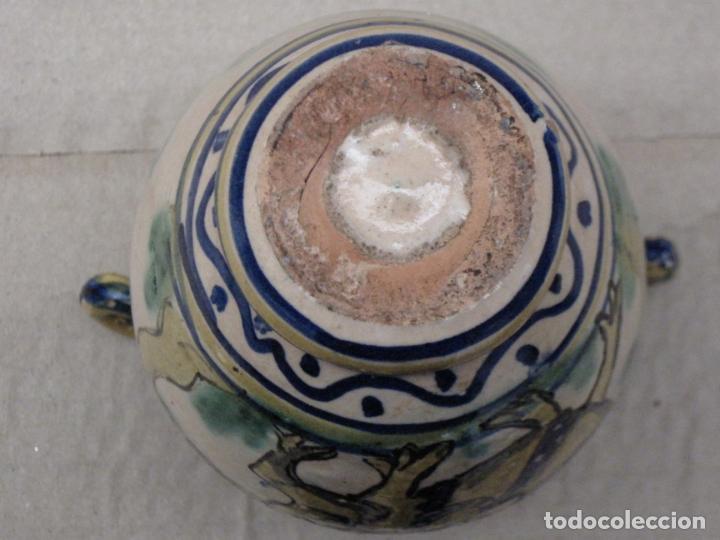 Antigüedades: JARRA ANTIGUA DEL LOBO - PUENTE DEL ARZOBISPO ( TOLEDO ) - Foto 6 - 154174406