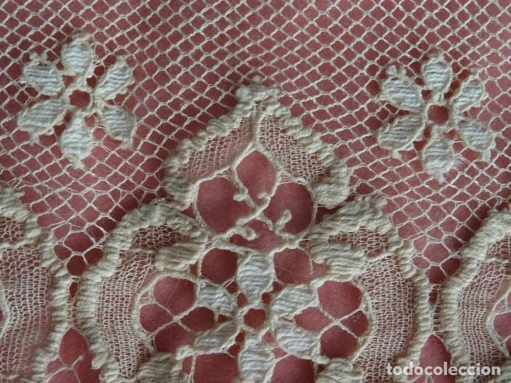 Antigüedades: Encaje Bordado - Foto 4 - 154214342