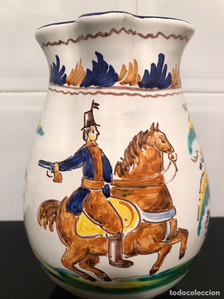 JARRA TALAVERA PUENTE REPRODUCION SIGLO XVIII (Antigüedades - Porcelanas y Cerámicas - Puente del Arzobispo )