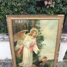 Antigüedades: LAMINA RELIGIOSA. Lote 154222990