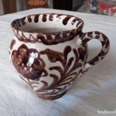 Antigüedades: RARA Y PEQUEÑA JARRA ANTIGUA DE FAJALAUZA. Lote 154238330