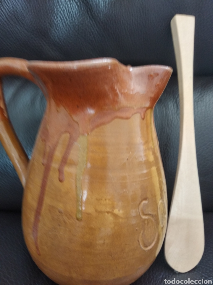 Antigüedades: Jarra para sangria de cerámica de la bisbal - Foto 5 - 154243322