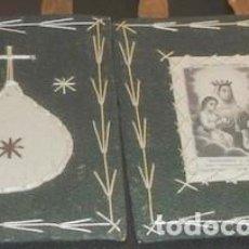 Antigüedades: ESCAPULARIO O DETENTE DE NTRA. SRA. DEL MONTE CARMELO. Lote 154252474