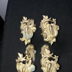 Antigüedades: 4 ALZAPAÑOS. Lote 154263134
