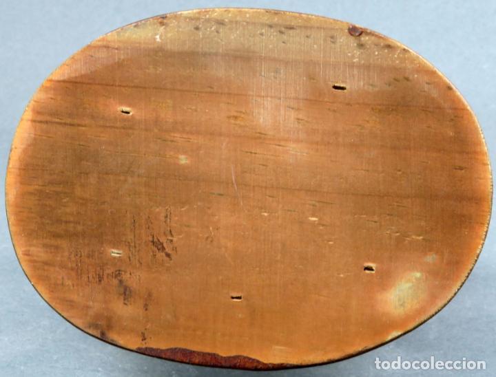 Antigüedades: Figura arlequín en cerámica Castro Sargadelos base de madera siglo XX - Foto 6 - 154267546
