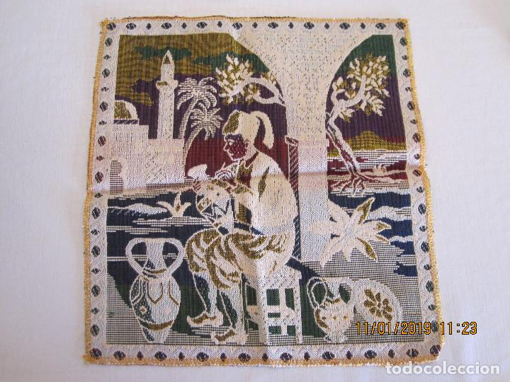 Antigüedades: tapete bordado a mano - Foto 2 - 154271926