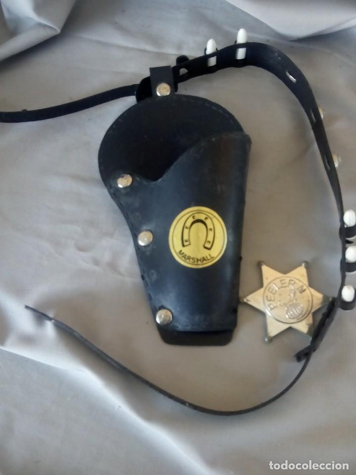 Antigüedades: Disfraz de policia o guardia (se regala la cartuchera y la placa de sherif) - Foto 3 - 154279630