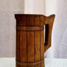 Antigüedades: JARRA DE MADERA. Lote 154282862