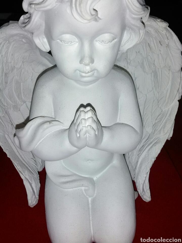 Antigüedades: ¡¡LIQUIDACIÓN!! ***BONITA PAREJA DE ANGELES REZANDO.*** - Foto 2 - 154304493