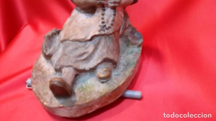 Antigüedades: INTERESANTE ESCULTURA EN TERRACOTA. FIRMA DEL AUTOR. - Foto 5 - 154345914