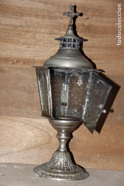 Antigüedades: Lámpara votiva - Foto 2 - 154353090