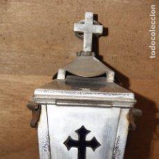 Antigüedades: PEQUEÑA LÁMPARA VOTIVA DE COLGAR. Lote 154353426